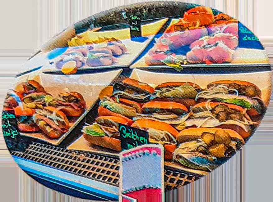 Fischbrötchen Auswahl der Fa. Sperlich & Sohn
